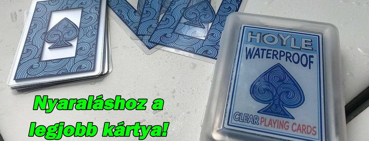 Hoyle Waterproof kártya